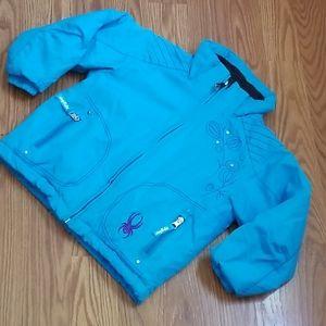 Spyder snow jacket size 4